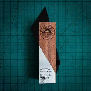 Kite wooden trophy (2)