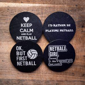 Netball Coasters