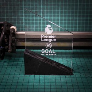 Perspex trophy Small