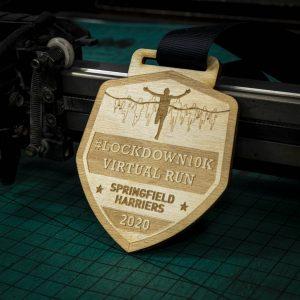 Running medal 2
