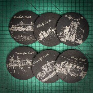 Welsh Castles Coasters