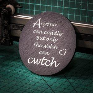 Welsh Cwtch Coaster