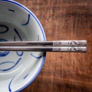 Zodiac Chopsticks close